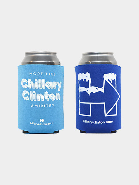Chillary Clinton Koozie Pack