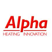 Логотип Alpha Heating