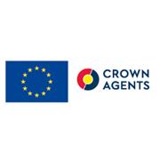 Логотип crown agents